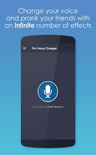Pro Voice Changer - náhled