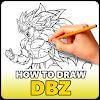 How to Draw DBZ - Easy