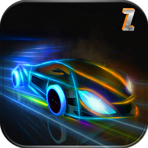 Futuristic Neon Car Driving : Arena Rival 2018