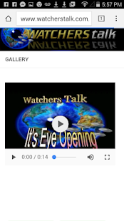 Watchers Talk- screenshot thumbnail