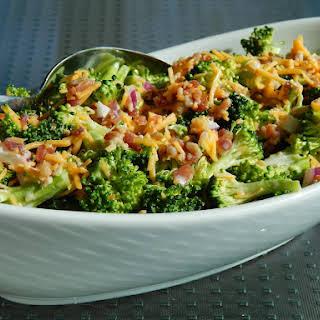 Sweet & Tangy Broccoli Salad.