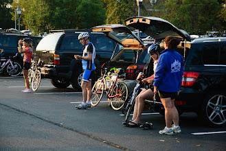 Photo: Most riders make their own checks