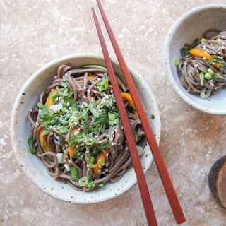 Soba Noodle Salad with Tamari Dressing