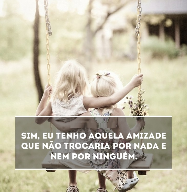 Frases amizade com fotos- screenshot