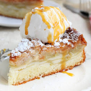 Apple Cake With Streusel Topping.