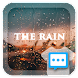 Night scene in the rain skin for Next SMS - Androidアプリ