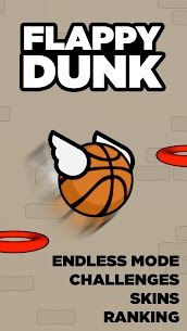 Flappy Dunk 1.6.2 MOD (Unlocked) 5
