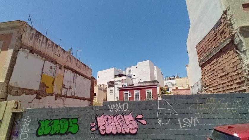 El solar de la calle Arráez
