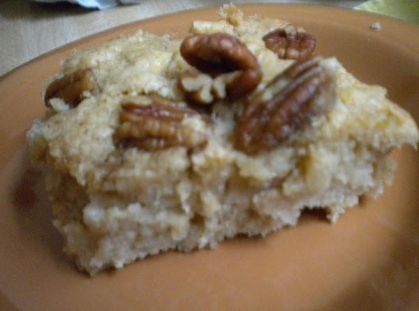 Fresh Apple Cake With Pecans Recipe
