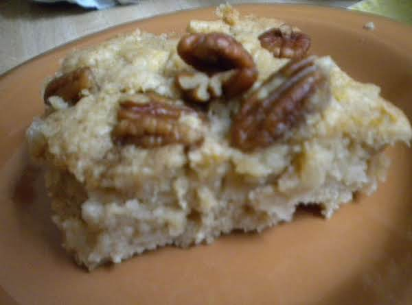 Fresh Apple Cake With Pecans Recipe