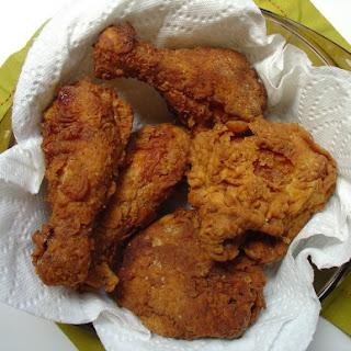 Extra-crispy Fried Chicken.