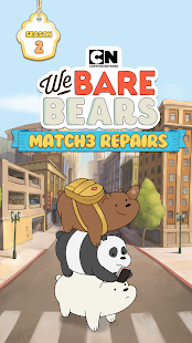 ApkMod1.Com We Bare Bears Match3 Repairs + (99 Move) for Android Game Puzzle