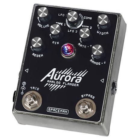 Spaceman Aurora Multi-mode Analog Flanger Silver