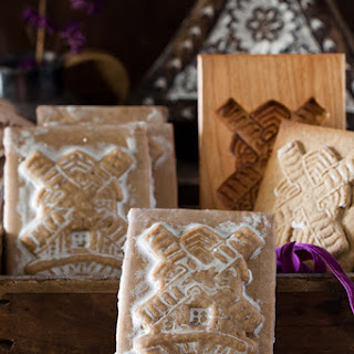Honey & Ginger Windmill Cookies - Speculaas Cookies of Holland