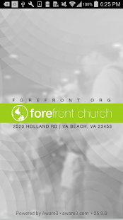 Forefront Church App- screenshot thumbnail