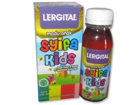 HIU Syifa Kids Lergital Herbal Alergi dan Gatal SyifaKids Alergi Obat madu herbal anak alergi gatal biduran cacar air eksim