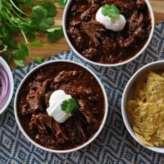Texas-Style Beef Short Rib Chili.