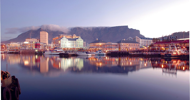 Cape Town's V&A Waterfront. File photo.