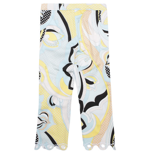Thumbnail images of Emilio Pucci Scalloped Hem Trousers