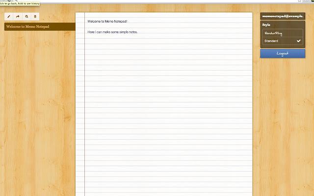 memo notepad chrome web store