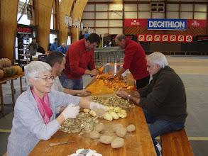 Photo: 180kg de courges et 100kg de pommes de terre