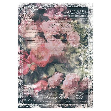 Prima Re-Design Decoupage Tissue Paper 19X30 - Celeste