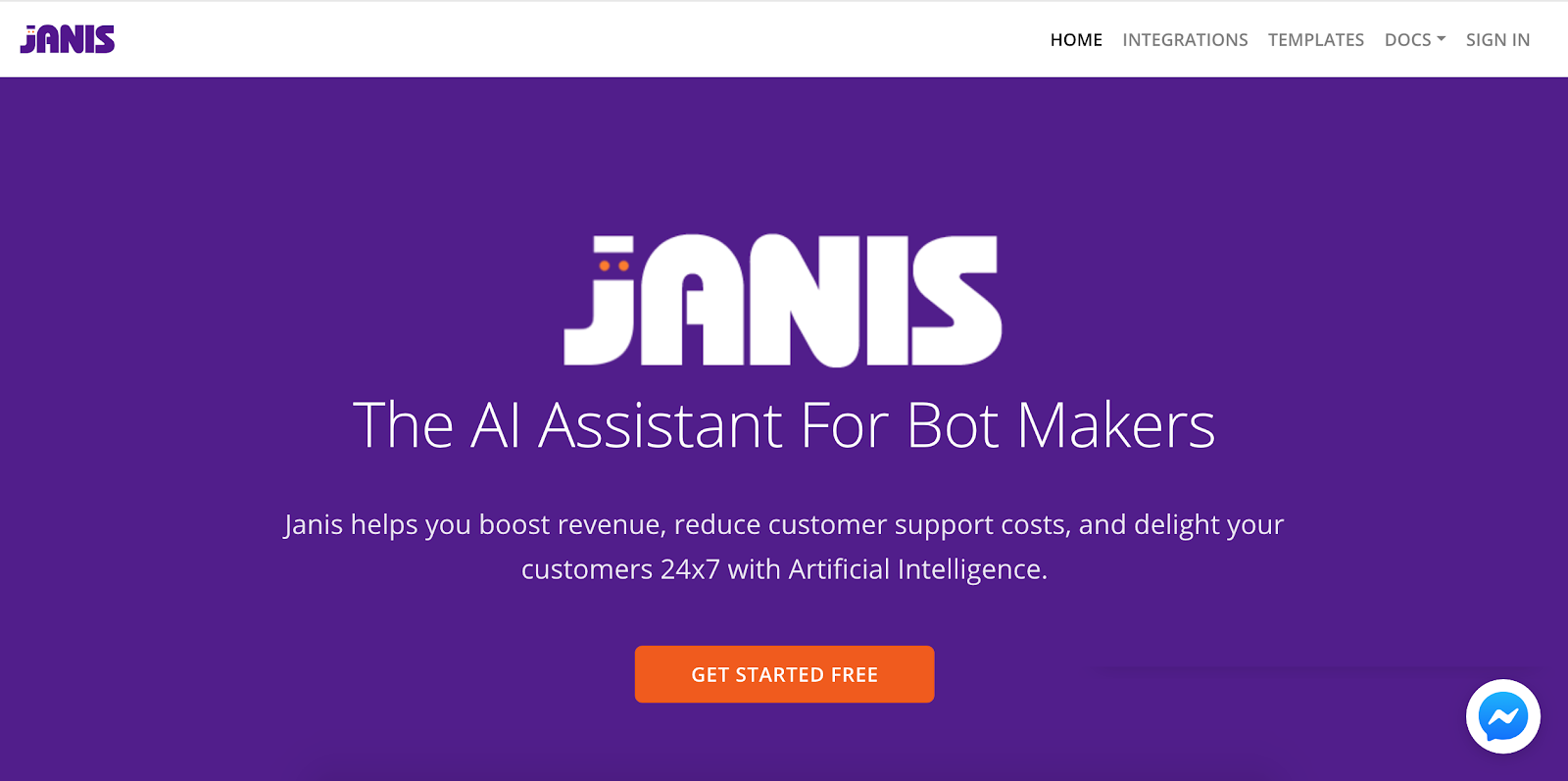 Top Marketing Tool Example #14 - Janis.AI | 16 Powerful Marketing Tools You Haven't Considered (But Probably Should)