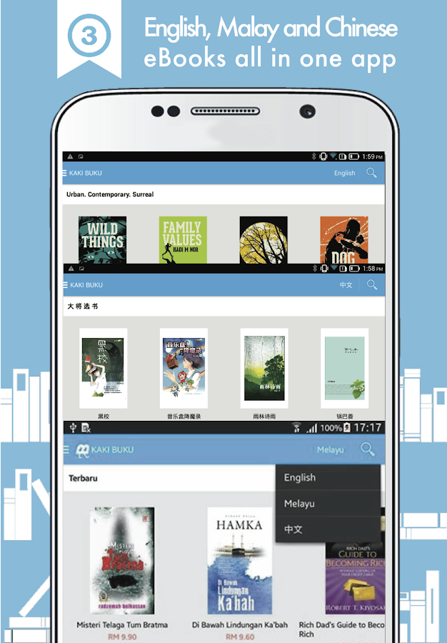 Kaki Buku eBook Club- screenshot