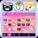Yummy Sushi Emoji Stickers icon