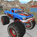 Real Monster Truck Cop Chase icon