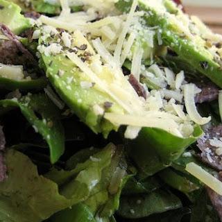 Parmesan Green Salad.