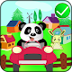 Panda animal zoo transporter bus APK