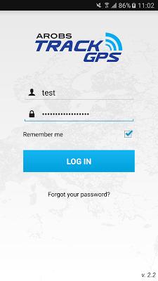 TrackGps - screenshot