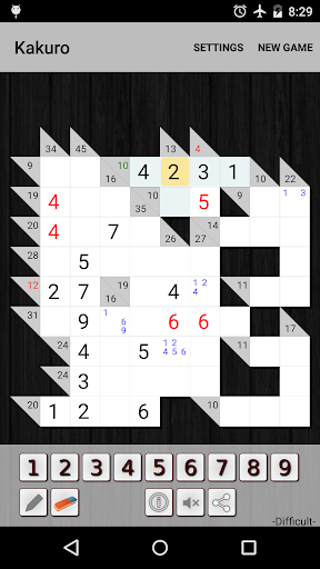 Kakuro Cross Sums screenshot 18