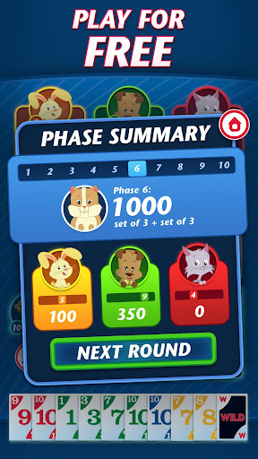 Phase 10 - Play Your Friends! Screenshot