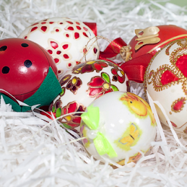 nice multicolor easter eggs by LADOCKi Elvira - Public Holidays Easter ( holiday, eggs, easter, easter decoration, decoration, easter eggs )