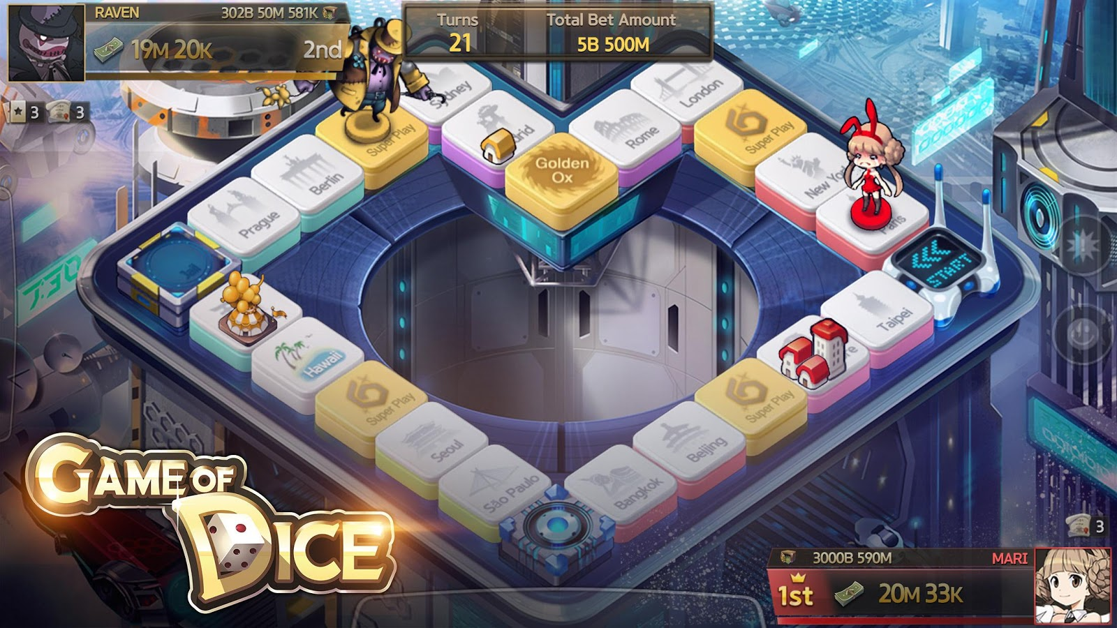 Game of Dice- screenshot