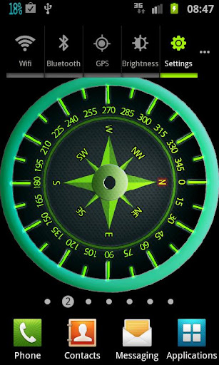 Easy Compass Live Wallpaper Screenshot 7