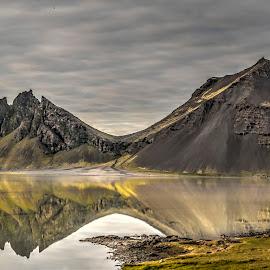 Morning by Oddsteinn Björnsson - Landscapes Mountains & Hills