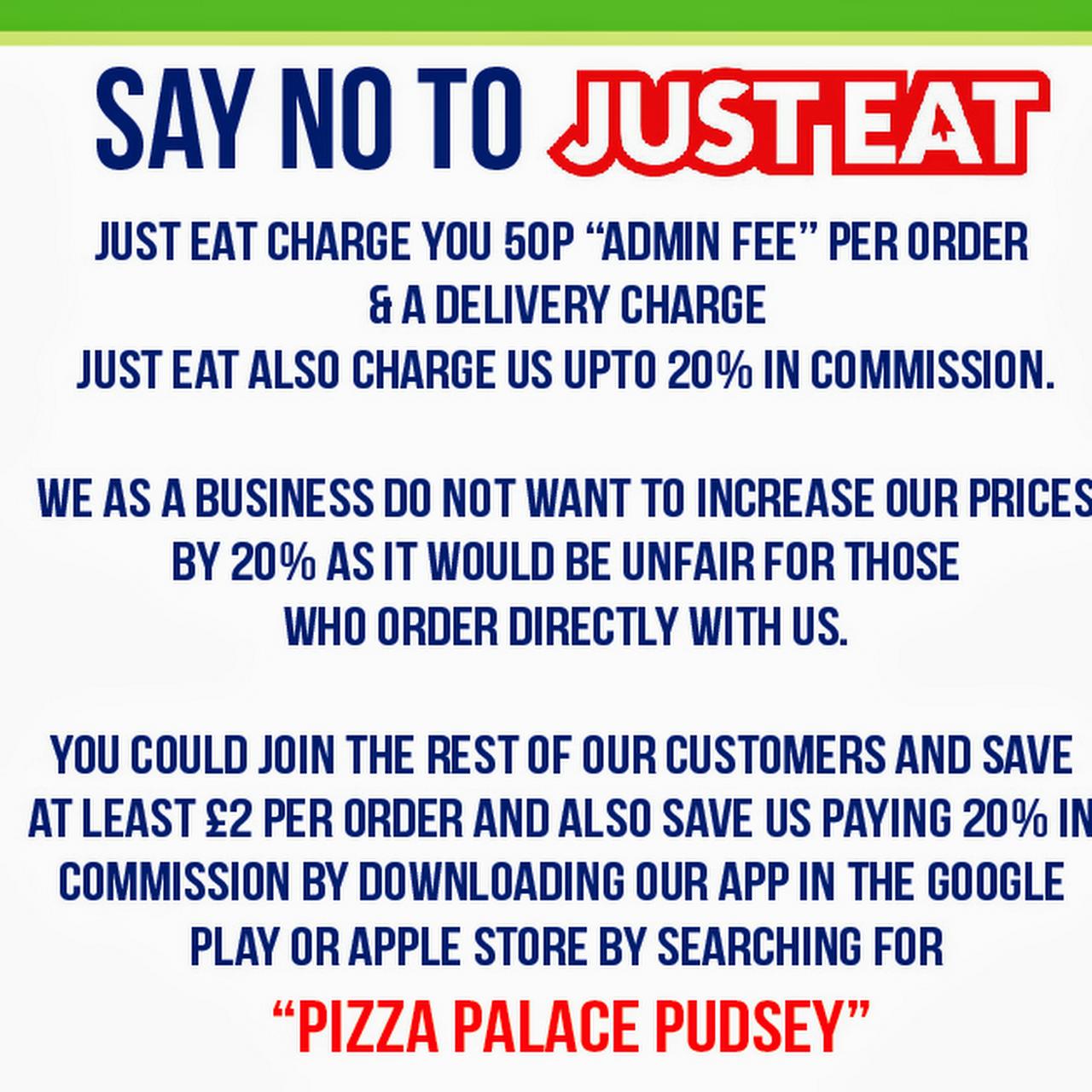 Pizza Palace Pizza Takeaway