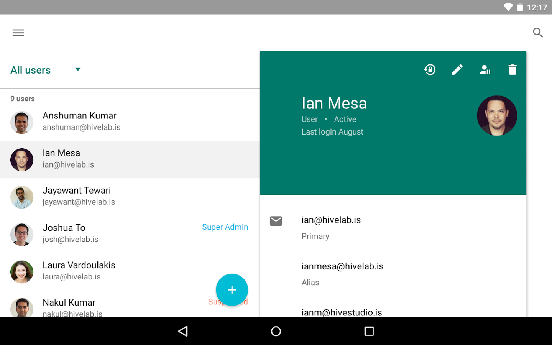 Stupendous Google Admin Android Apps On Google Play Short Hairstyles Gunalazisus