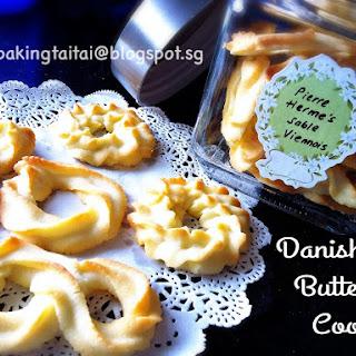 Pierre Herme's Sable Viennois (Danish Butter Cookies).