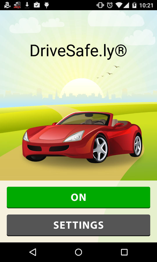 DriveSafe.ly® Free SMS Reader- screenshot