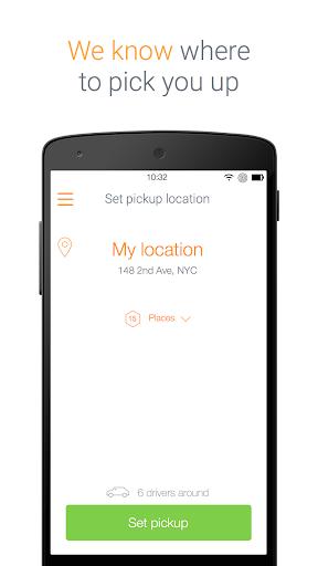 myRide Taxi App