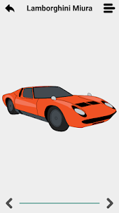 Draw sports cars 3D - náhled