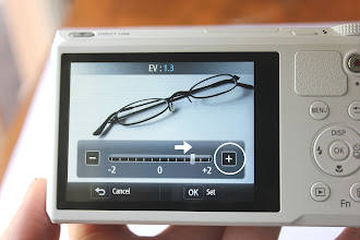Photo: You can use the touch screen to increase the exposure of your pictures. You can take better pictures without having to worry about all the details of a manual camera.