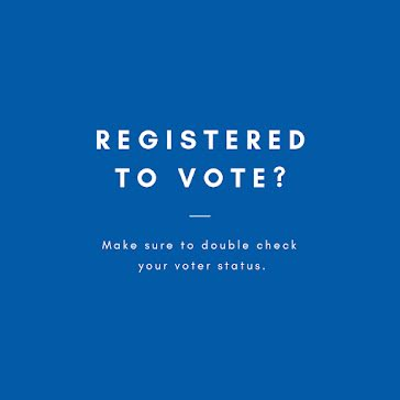 Registered to Vote? - Instagram Post Template