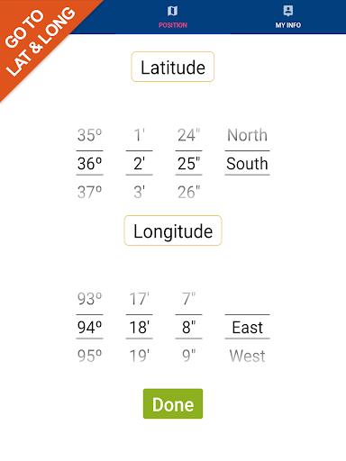 Cheesapeake Bay GPS Map Navigator app for Android screenshot