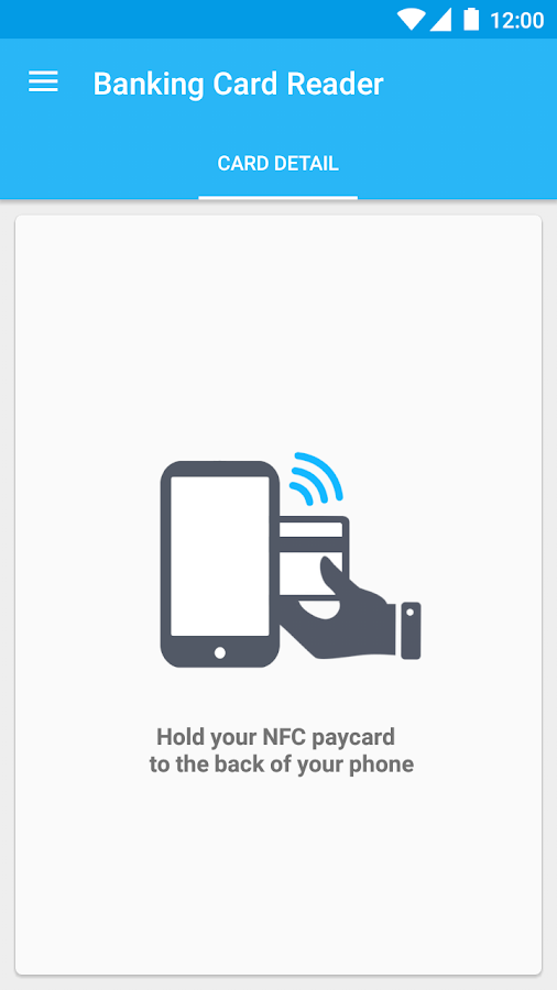 Credit Card Reader NFC (EMV)- screenshot