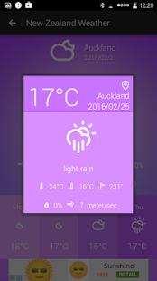 New Zealand Weather - náhled
